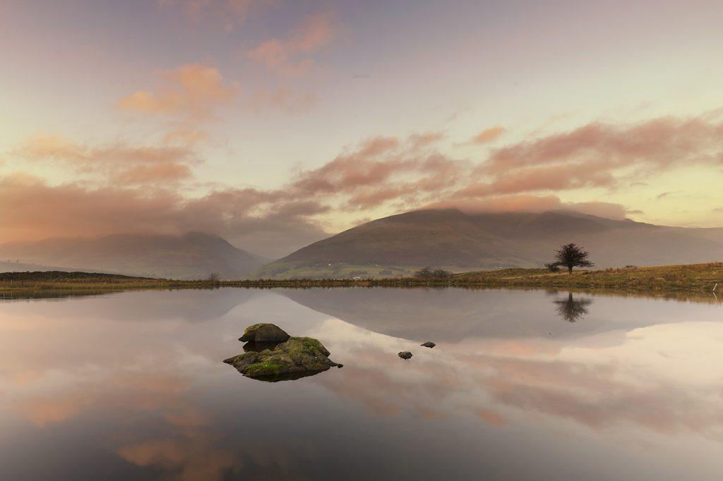 Tewet Tarn, nr Keswick, Lake District