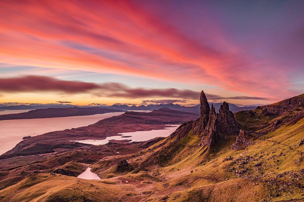 Sunrise, Old Man of Storr, Isle of Skye