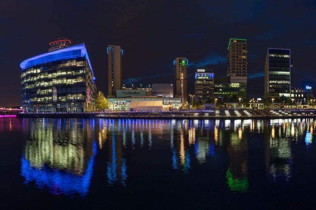 Media City, BBC Studios, Salford Quays, Manchester