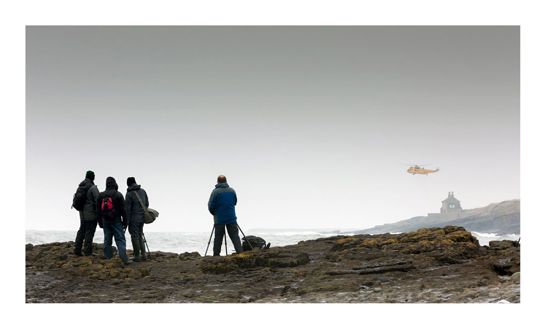 RAF at Cullernose Point