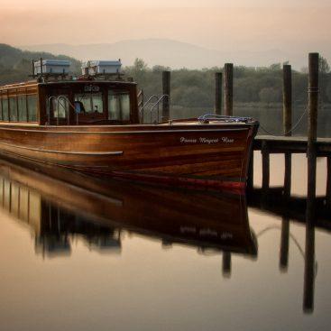 Princess Margaret Rose Steamer, Derwentwater, Lake District