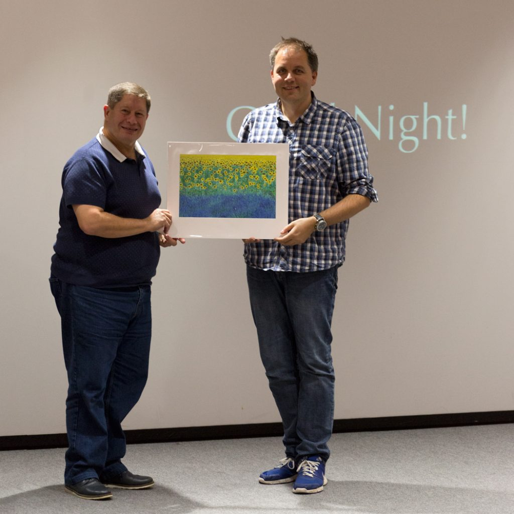 2nd Prize went to Dave Duxbury - A3 Mounted Print by David Clapp