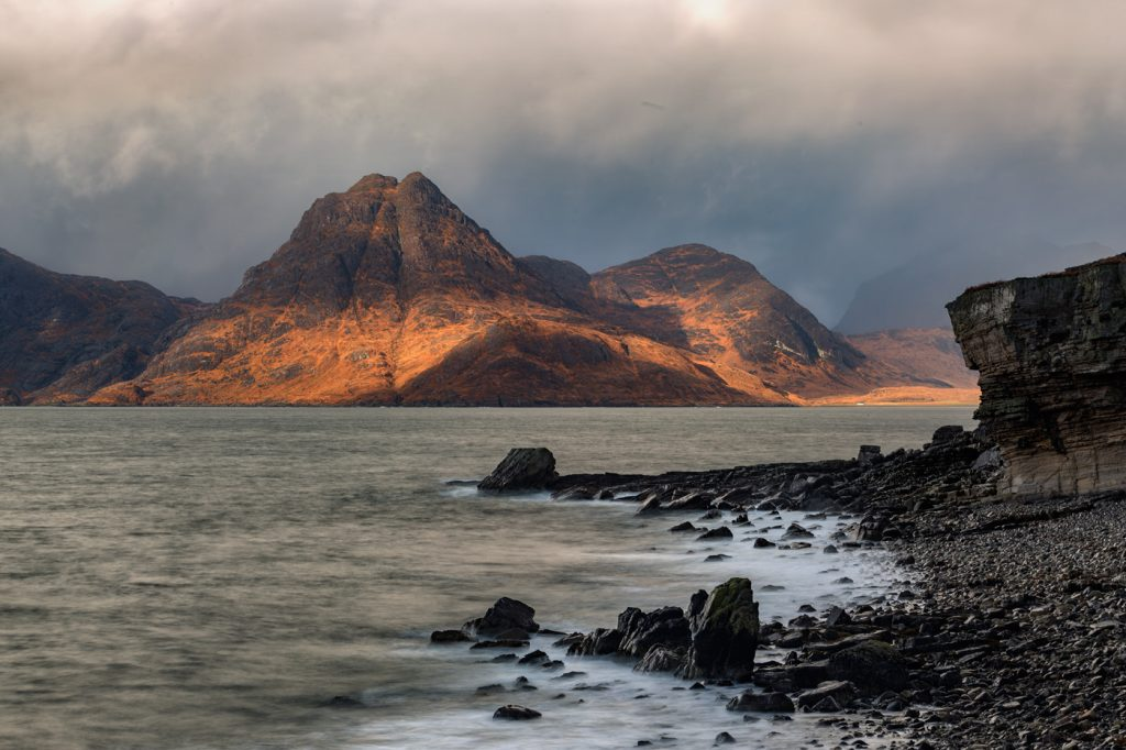 The Black Cuillins from Elgol, Skye