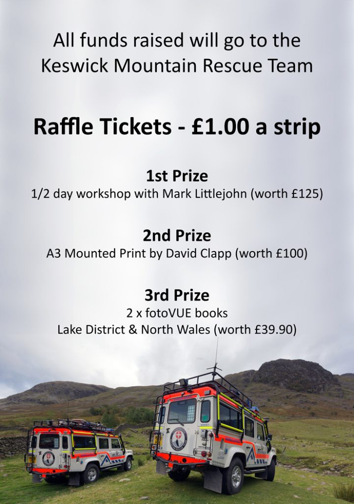 Raffle Tickets, Keswick Mountain Rescue Team