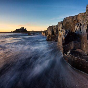 Rock Face, Bamburgh Castle, Northumberland
