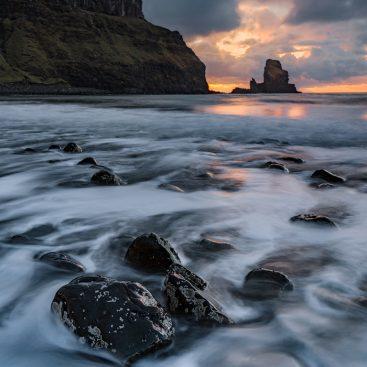 unset, Talisker Bay, Isle of Skye