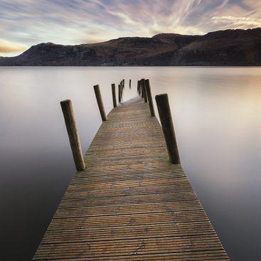 High Brandlehow Pier, Derwentwater, Lake District