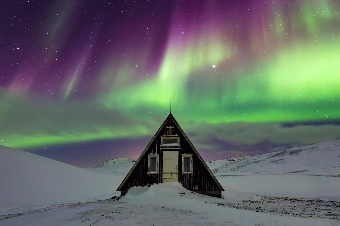 Aurora Borealis, Ólafsvík, Iceland