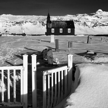 Buðir Church (Black Church), Snæfellsness Peninsular, Iceland