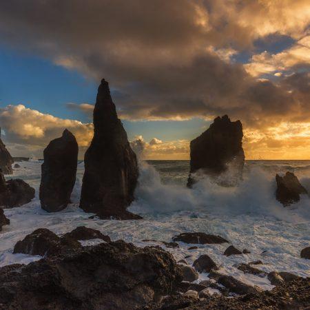 Sea Stacks, Reykjanestá, Iceland