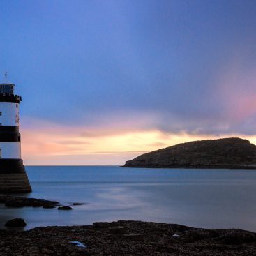 Penmon Lighthouse & Puffin Island, Anglesey, North Wales