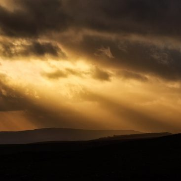 Sunset from Twistleston Scar, Yorkshire Dales