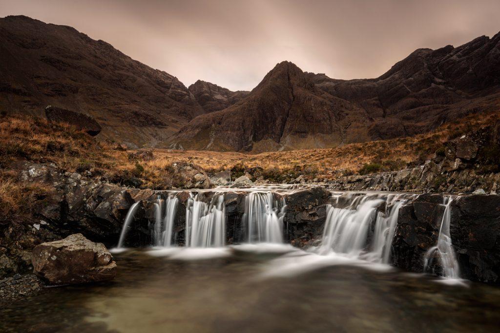 Magical Fairy Pools, Glen Brittle, Skye