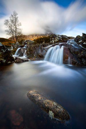 River Coupall, Buachaille Etive Mor, Rannoch Moor