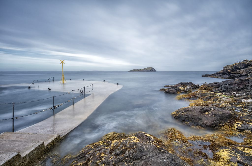 Old Chain Pier, North Berwick, East Lothian, Scotland