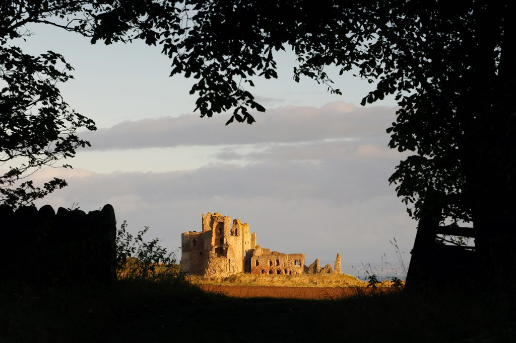 Sunrise at Tantallon Castle, Seacliff, East Lothian