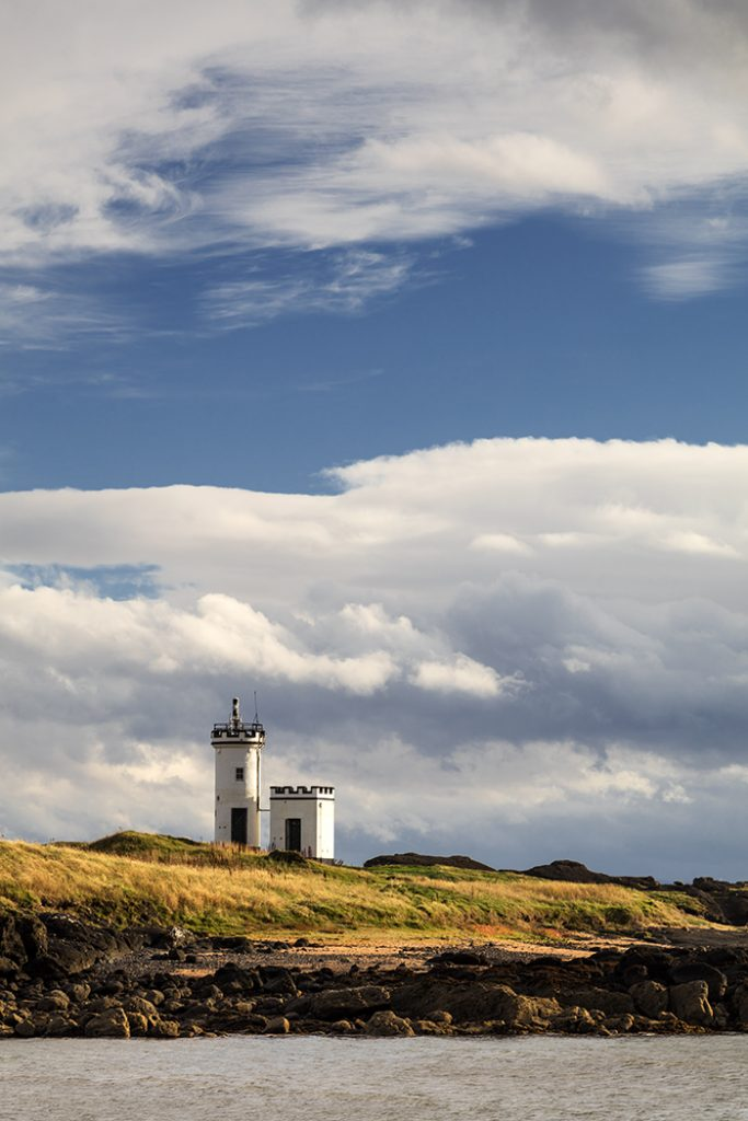 Elie Ness Lighthouse, Fife, Scotland