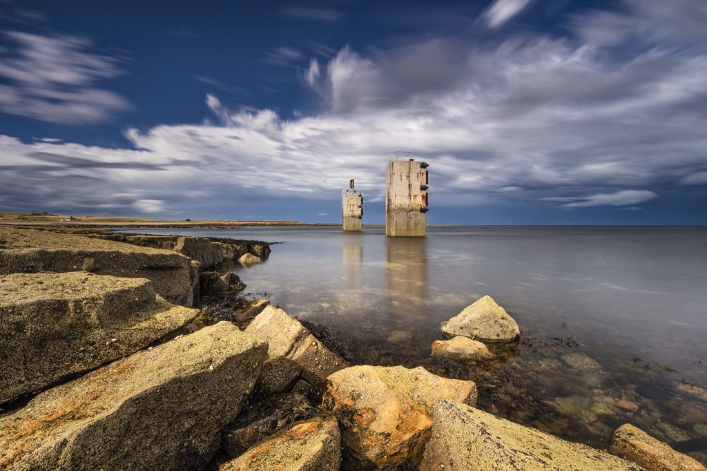 Torness Towers, Skateraw Bay, East Lothian