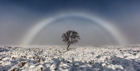 Fog Bow, Rannoch Moor, Glencoe, Scotland