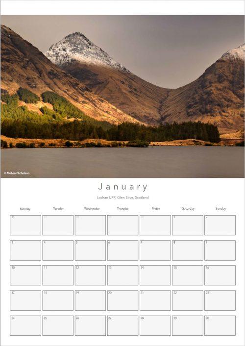 2018 A3 Calendar - Melvin Nicholson Photography