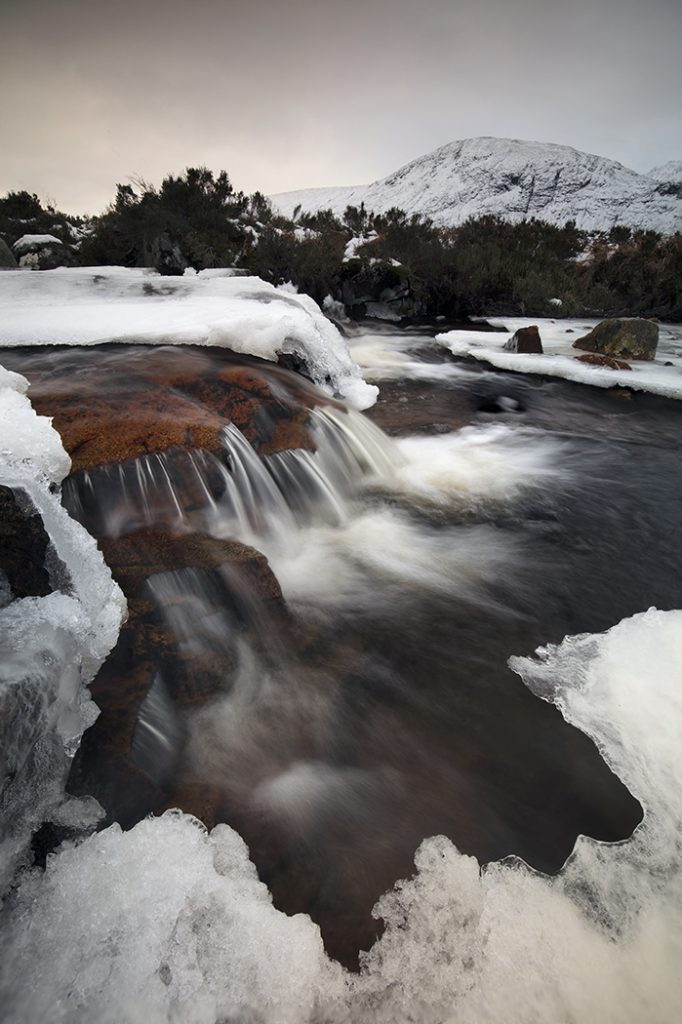 Cauldron Falls, Rannoch Moor, Scotland, UK
