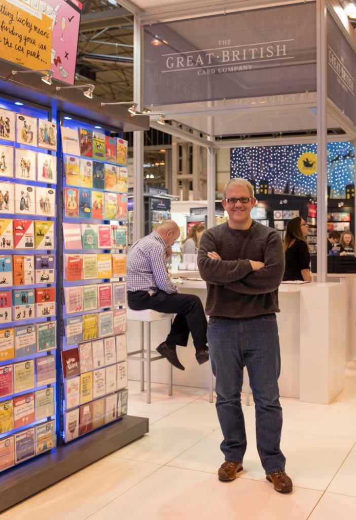 The Great British Card Company at the International Spring Fair at the NEC, Birmingham