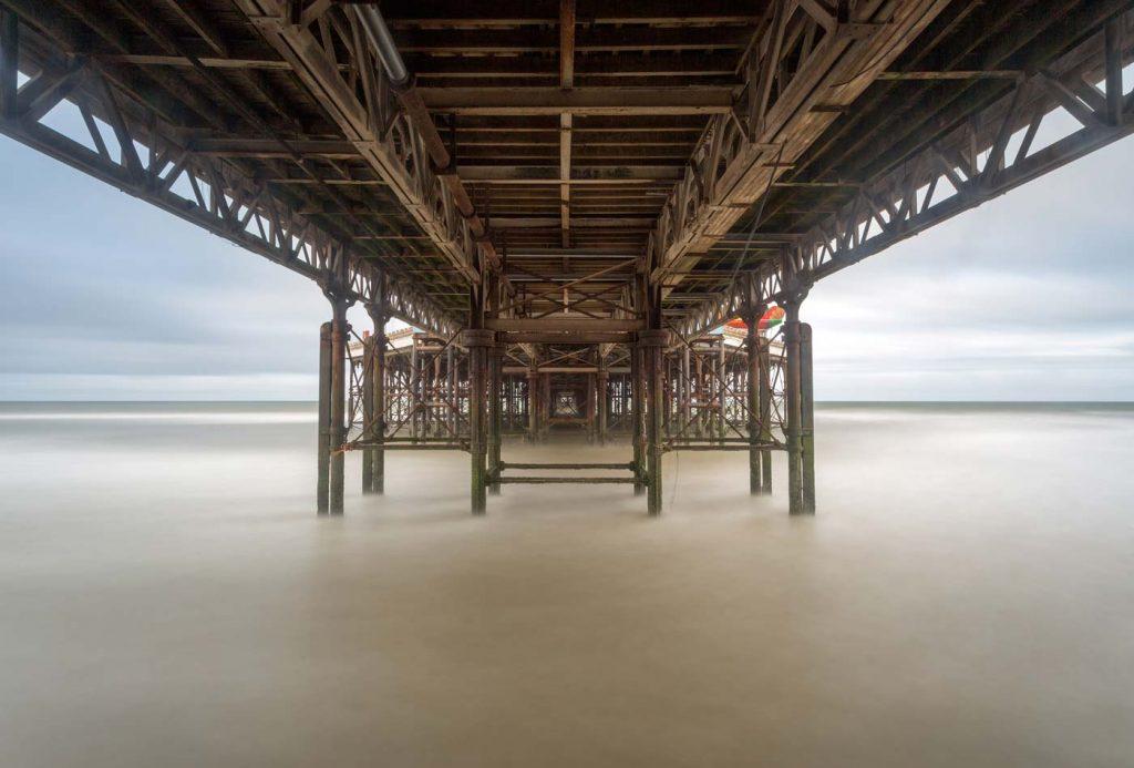 Long Exposure, Central Pier, Blackpool, Lancashire