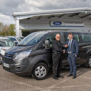 Welcome to the new nine-seater company minibus