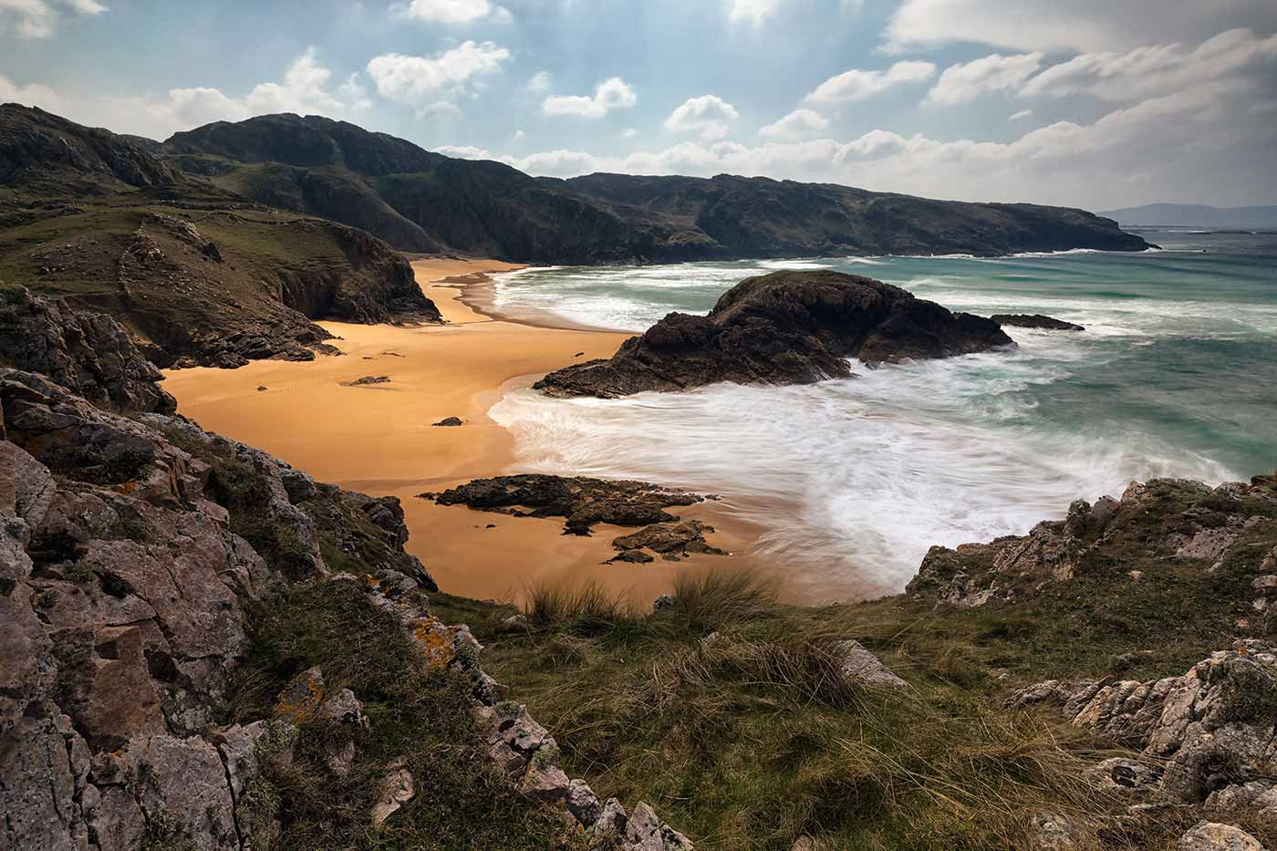 Melmore Head, County Donegal, Ireland