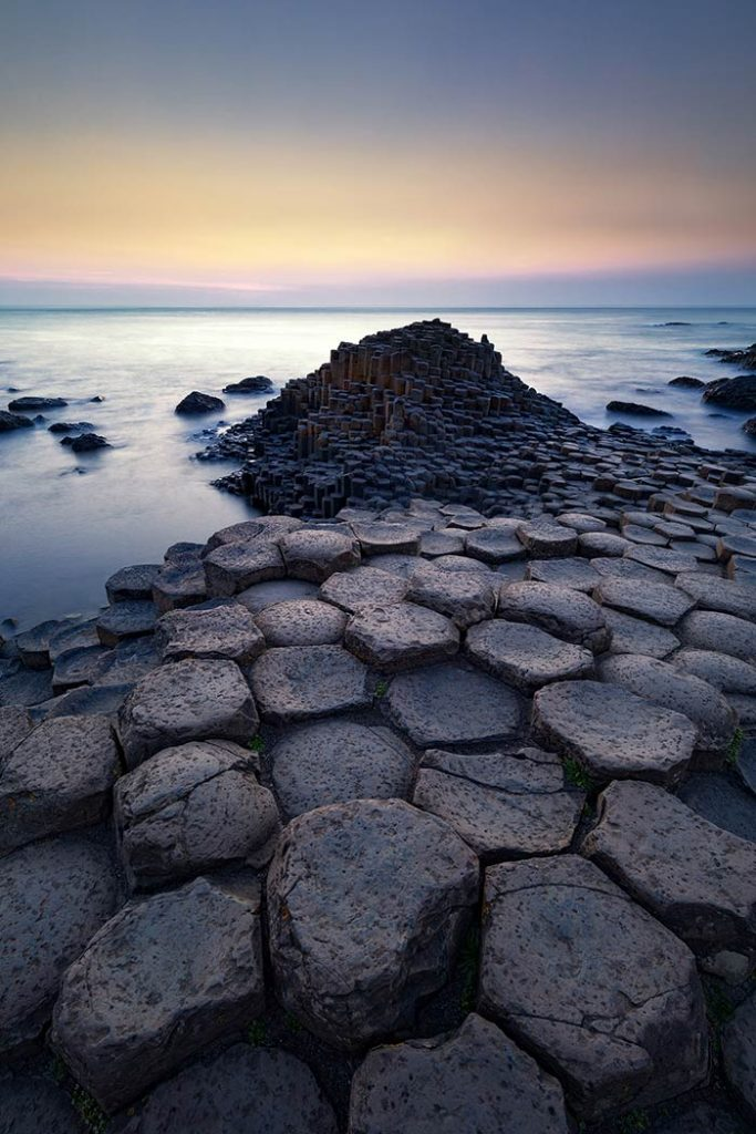 Sunset Over the Giant's Causeway, Northern Ireland