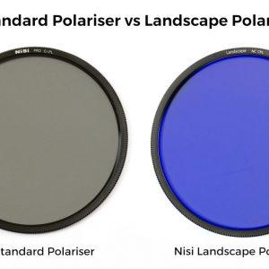 Nisi Standard Polariser vs Landscape Polariser – See the difference