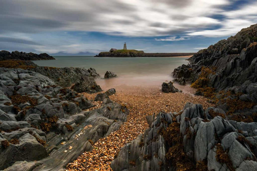 Twr Bach Lighthouse & Boathouse, Llanddwyn Island, Anglesey, North Wales