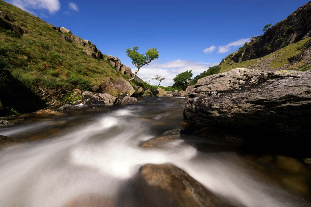 Afon Nant Peris, Pass of Llanberis, North Wales