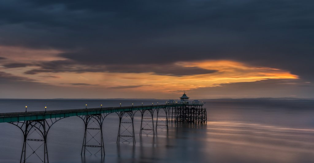 Stormy Skies, Clevedon Pier, Somerset