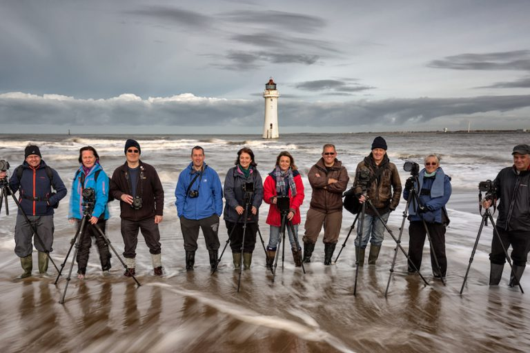 Group Workshop, Perch Rock Lighthouse, New Brighton, Merseyside