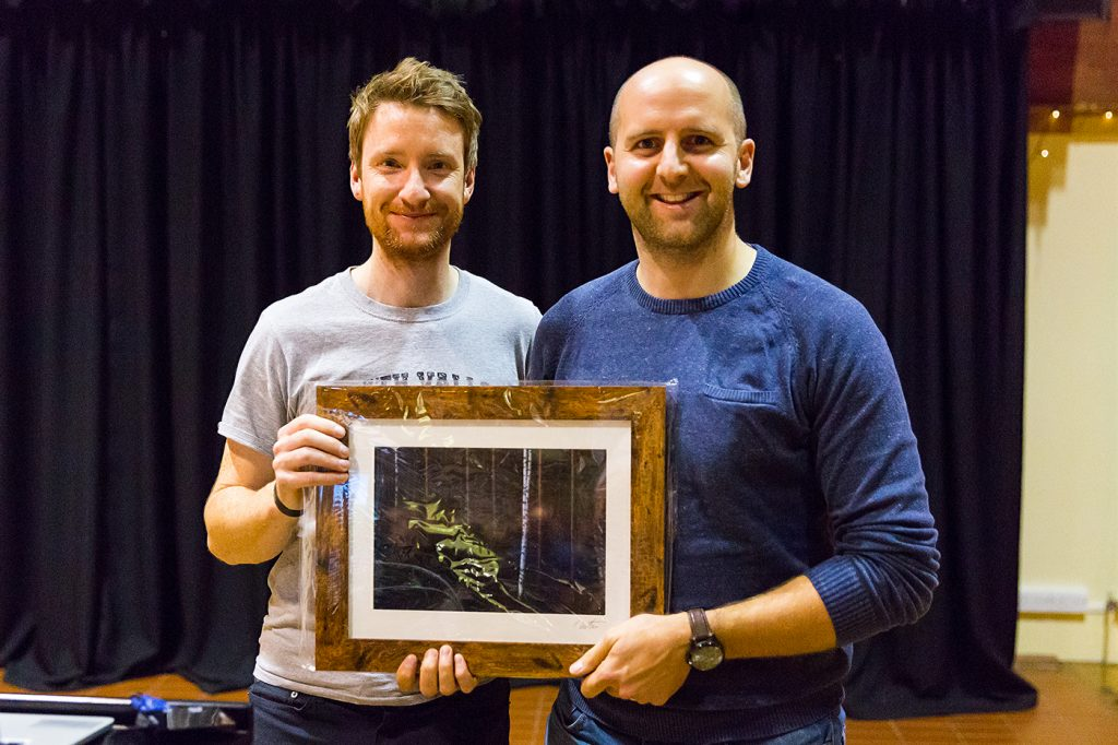 Raffle Winner - Thomas Heaton Signed Framed Print