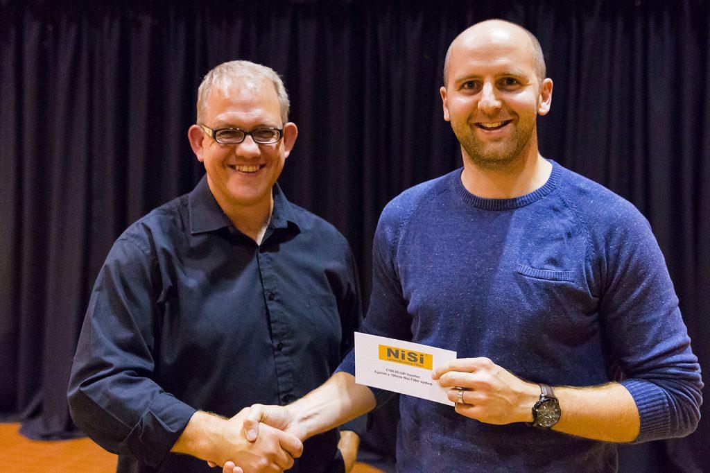 Raffle Winner - Nisi Filter Phil Norton £100 Gift Voucher