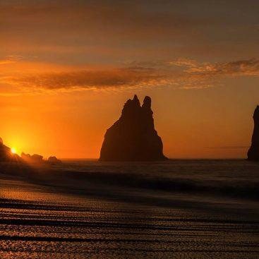 Sunrise at Vik, Iceland