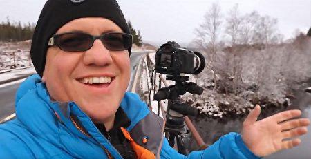 Melvin Nicholson Photography, Scotland, Scottish highlands, Snow Scene, YouTube