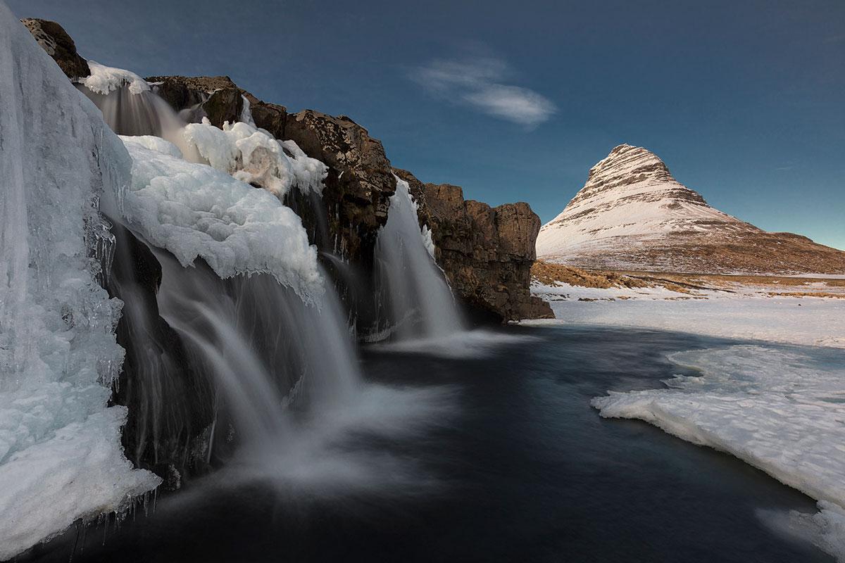 Kirkjufellfoss and Kirkjufell, Iceland