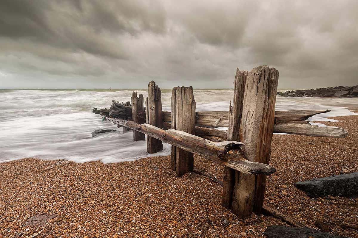 Wooden Groyne, Shoreham, Sussex