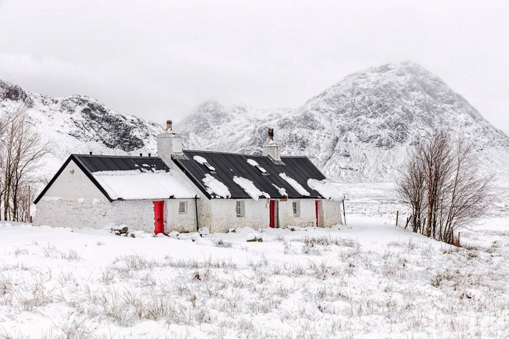 Blackrock Cottage, Rannoch Moor, Glencoe, Scotland