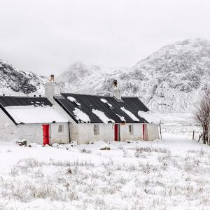 Blackrock Cottage, Rannoch Moor, Glencoe, Scotland