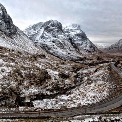 The Three Sisters, Glencoe, Scotland - Melvin Nicholson Photography