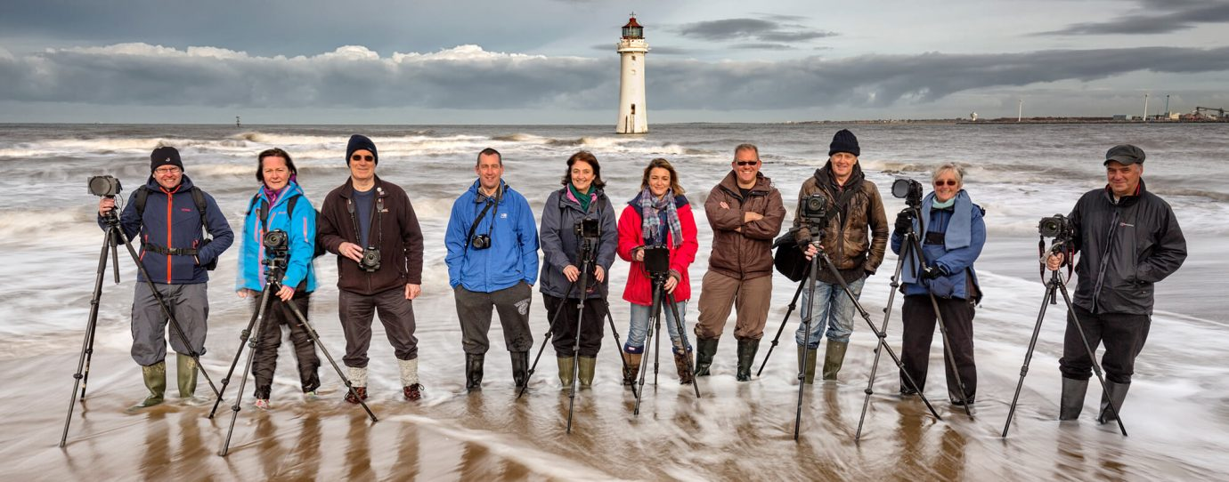 One day landscape photography workshop at Perch Rock Lighthouse with Melvin Nicholson