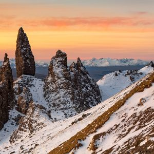 Stunning Sunrise, Old Man of Storr, Isle of Skye