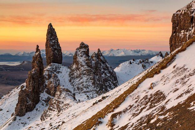 Stunning Sunrise, Old Man of Storr, Isle of Skye