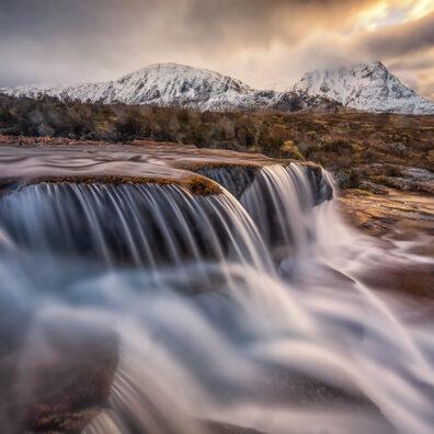 Cauldron Falls, Rannoch Moor, Glencoe, Scotland