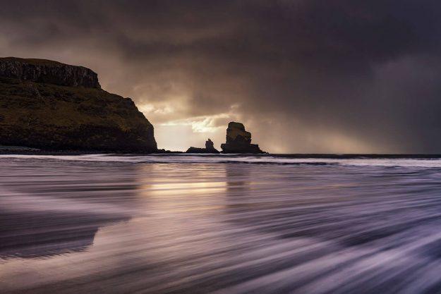 Stormy Skies, Talisker Bay, Isle of Skye, Scotland