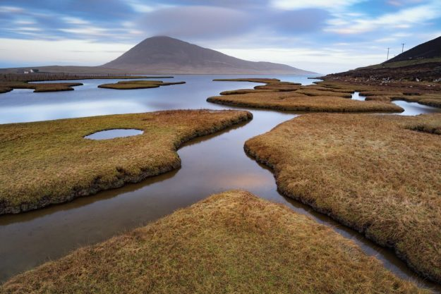 Salt Marshes, Northton, Isle of Harris, Outer Hebrides, Scotland